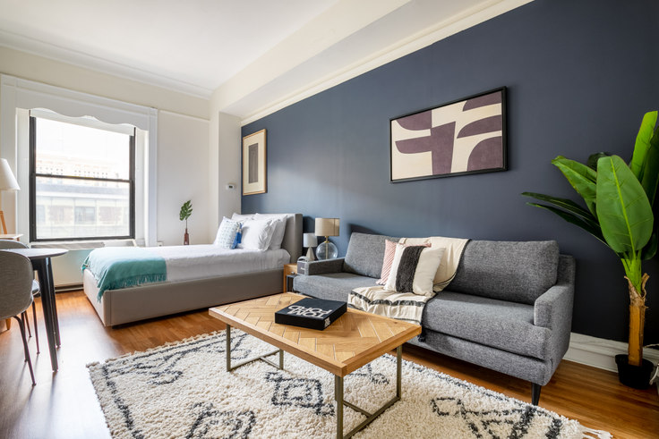 Studio furnished apartment in 62 Boylston St 243, Downtown/Financial District, Boston, photo 1