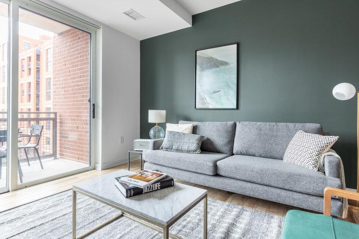 1 bedroom furnished apartment in 360 H Street NE 170, NoMa, Washington D.C., photo 1