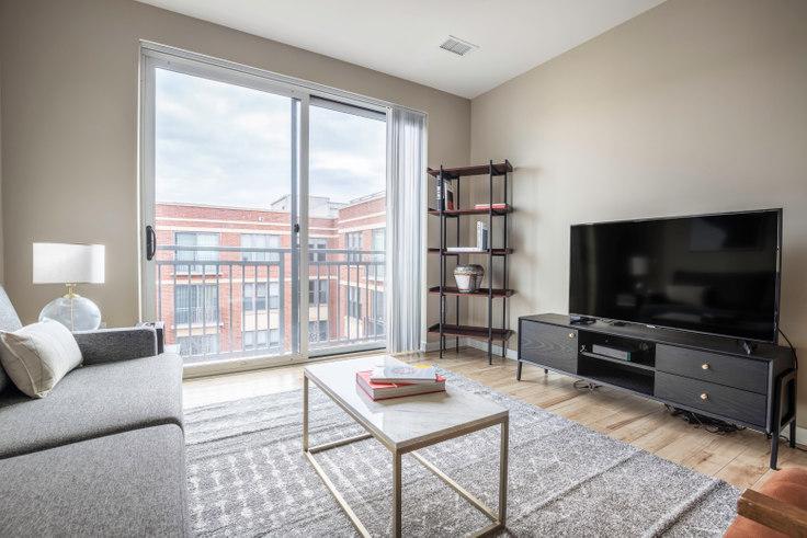 1 bedroom furnished apartment in 360 H Street NE 171, NoMa, Washington D.C., photo 1