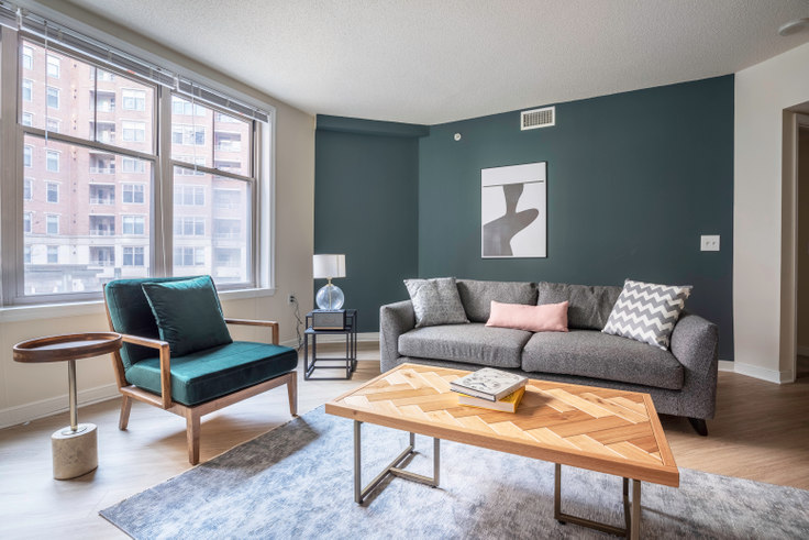 1 bedroom furnished apartment in 2400 M St NW 172, Foggy Bottom, Washington D.C., photo 1
