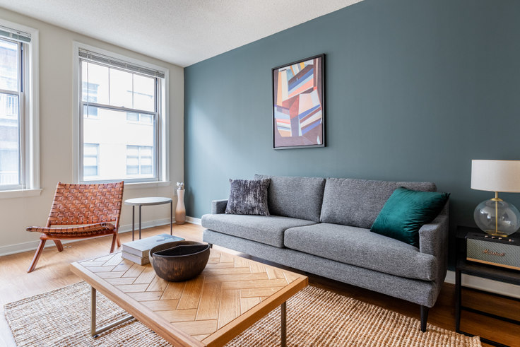 1 bedroom furnished apartment in 2400 M St NW 174, Foggy Bottom, Washington D.C., photo 1