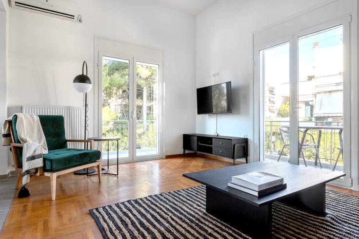 2 bedroom furnished apartment in Vironos I 853, Chalandri, Athens, photo 1