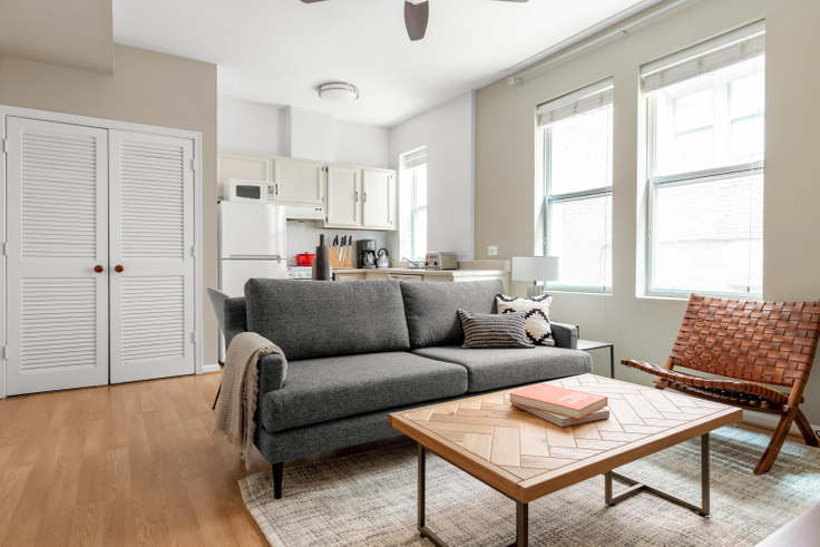 1 bedroom furnished apartment in Villa di Leonardo, 1826 Vernon St NW 183, Dupont Circle, Washington D.C., photo 1