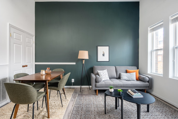 2 bedroom furnished apartment in Villa di Leonardo, 1826 Vernon St NW 191, Dupont Circle, Washington D.C., photo 1