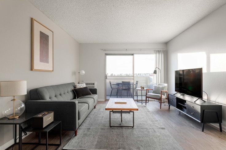 1 bedroom furnished apartment in Violet on Virgil 2, 136 S Virgil Ave 256, Koreatown, Los Angeles, photo 1
