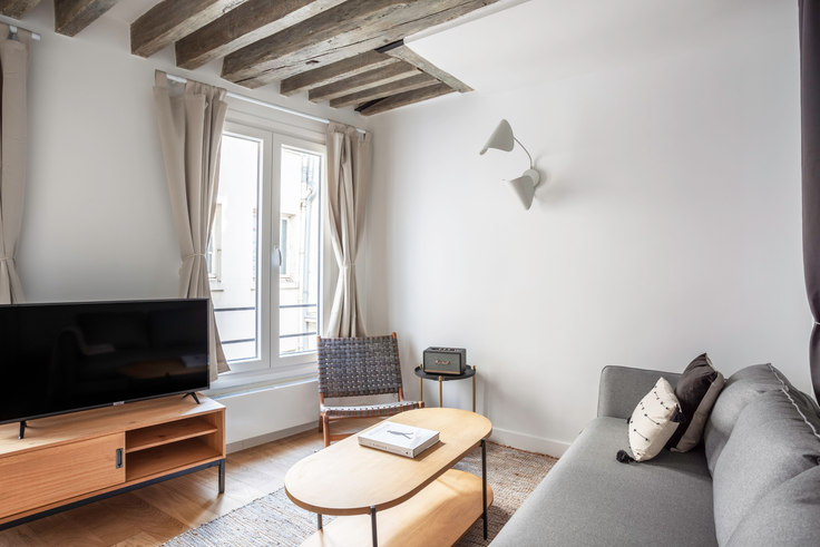 Studio furnished apartment in Rue Charlot 6, Le Marais - République, Paris, photo 1