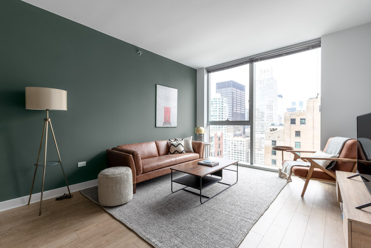 1 bedroom furnished apartment in Mila, 201 N Garland Ct 226, The Loop, Chicago, photo 1