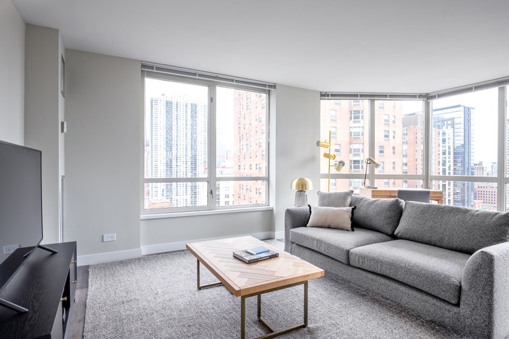 2 bedroom furnished apartment in 1 E Delaware, 1 E Delaware Pl 231, Gold Coast, Chicago, photo 1