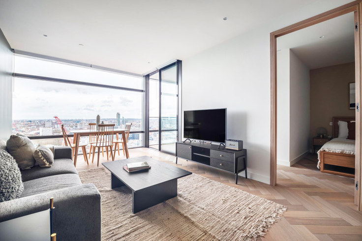 1 bedroom furnished apartment in Principal Place 13, Shoreditch, London, photo 1