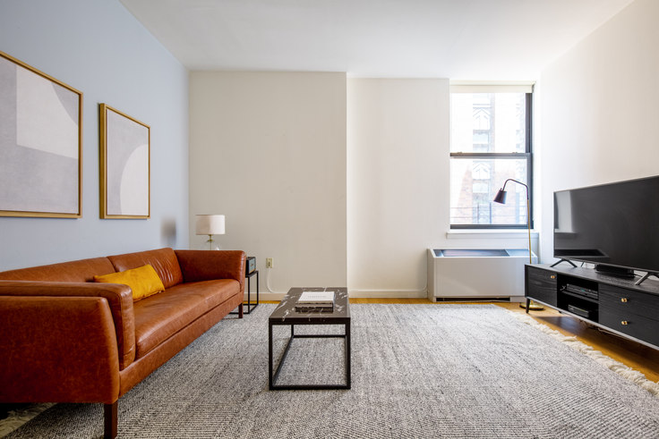 1 bedroom furnished apartment in Ocean, 1 West St 443, Financial District, New York, photo 1