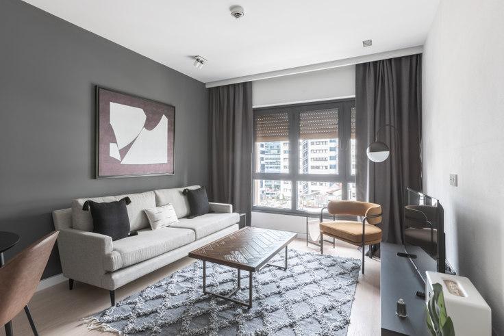 1 bedroom furnished apartment in Soyak Soho - 492 492, Esentepe, Istanbul, photo 1