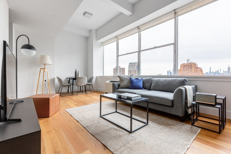 1 bedroom furnished apartment in 50 Murray Street 446, Tribeca, New York, photo 1