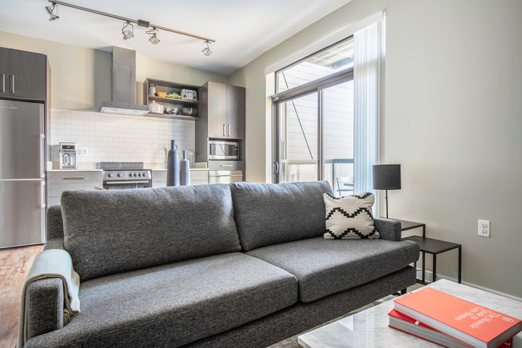 1 bedroom furnished apartment in The Aspen, 1011 4th St NW 196, Mount Vernon, Washington D.C., photo 1