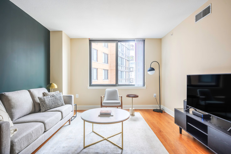 1 bedroom furnished apartment in Meridian at Mount Vernon Triangle, 425 L St NW 198, Mount Vernon, Washington D.C., photo 1