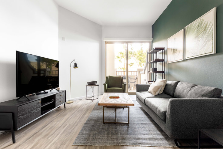 1 bedroom furnished apartment in 7403 La Tijera Blvd 268, Westchester, Los Angeles, photo 1
