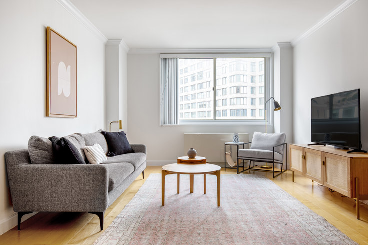 1 bedroom furnished apartment in 2 Lincoln, 60 W 66th St 459, Upper West Side, New York, photo 1