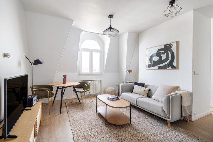 Studio furnished apartment in Boulevard de Bonne Nouvelle 7, Grands Boulevards, Paris, photo 1