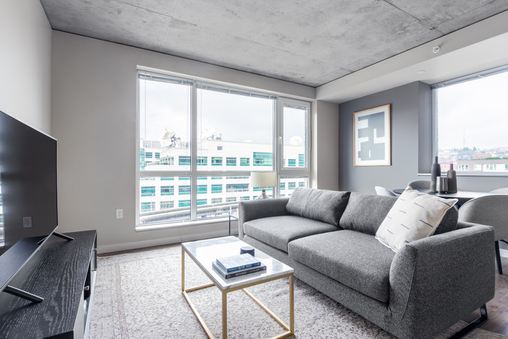 1 bedroom furnished apartment in The Century Apartments, 101 Taylor Ave N 10, Belltown, Seattle, photo 1