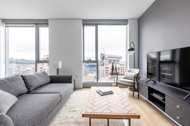 1 bedroom furnished apartment in The Wave, 521 Stadium Pl S 14, Pioneer Square, Seattle, photo 1