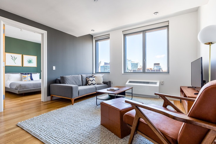 1 bedroom furnished apartment in Instrata Mercedes House, 550 W 54th St 468, Midtown West, New York, photo 1