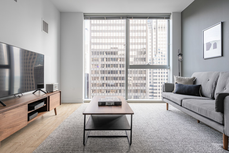 1 bedroom furnished apartment in Mila, 201 N Garland Ct 245, The Loop, Chicago, photo 1