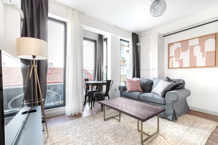 1 bedroom furnished apartment in Başkurt - 499 499, Cihangir, Istanbul, photo 1