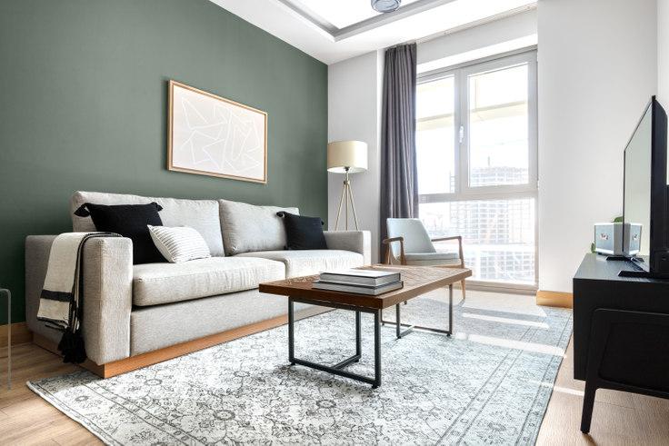 1 bedroom furnished apartment in Sarphan Finans Park - 501 501, Ümraniye, Istanbul, photo 1