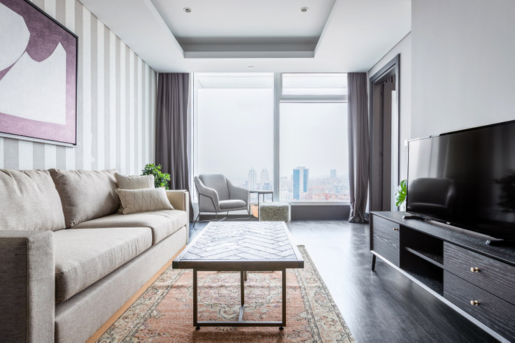 1 bedroom furnished apartment in Quasar Residence - 502 502, Fulya, Istanbul, photo 1