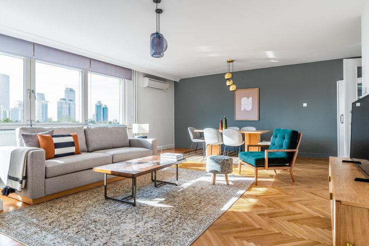 3 bedroom furnished apartment in Meydan - 508 508, Etiler, Istanbul, photo 1