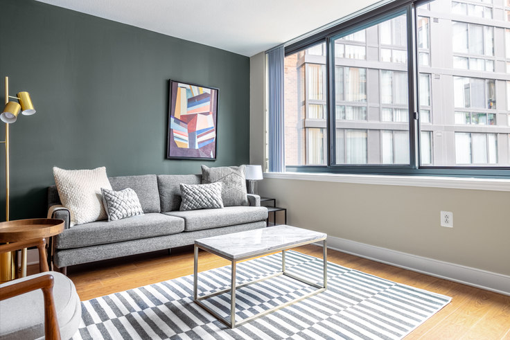 1 bedroom furnished apartment in Meridian Mount Vernon Triangle, 415 L St NW 203, Mount Vernon, Washington D.C., photo 1