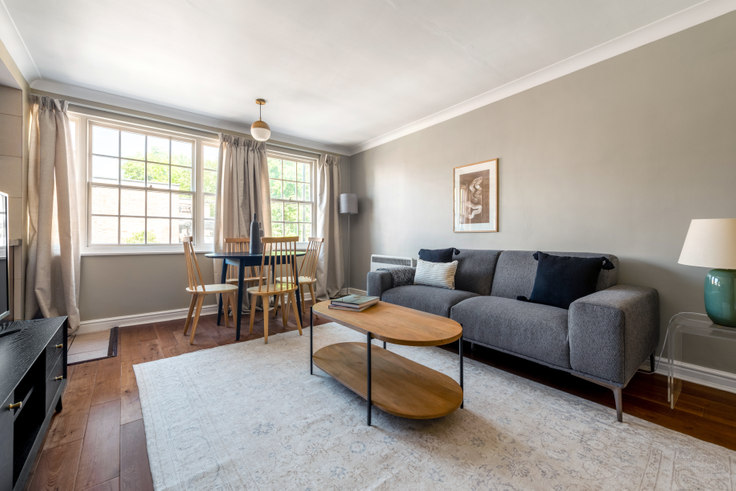 1 bedroom furnished apartment in Moscow Road 15, Bayswater, London, photo 1