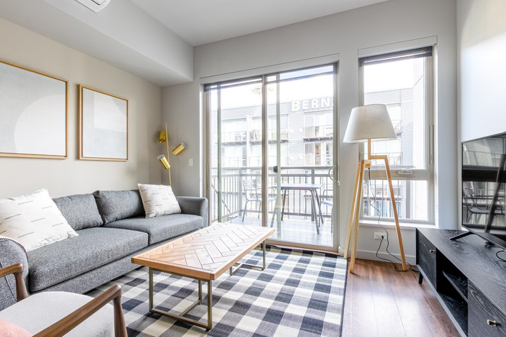 Studio furnished apartment in Alexan 100, 100 Denny Way 19, Belltown, Seattle, photo 1