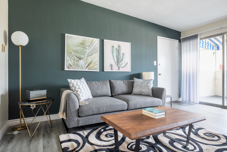 1 bedroom furnished apartment in 3537 Clarington Ave 291, Culver City, Los Angeles, photo 1