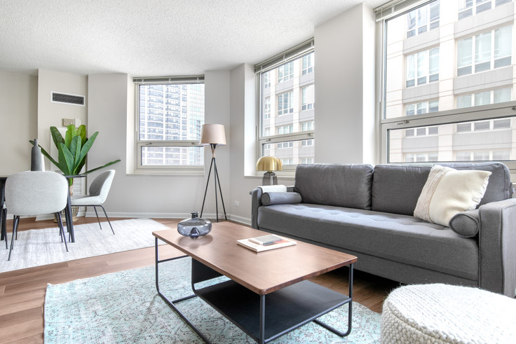 1 bedroom furnished apartment in The Chicagoan, 750 N Rush St 270, River North, Chicago, photo 1