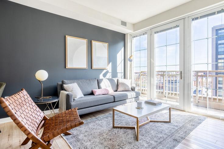 1 bedroom furnished apartment in 360 H Street NE 209, NoMa, Washington D.C., photo 1