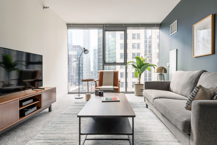 1 bedroom furnished apartment in Lake & Wells Apartments, 210 N Wells St 277, The Loop, Chicago, photo 1