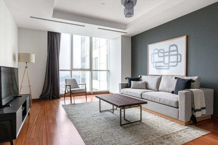 1 bedroom furnished apartment in Mashattan - 521 521, Maslak, Istanbul, photo 1