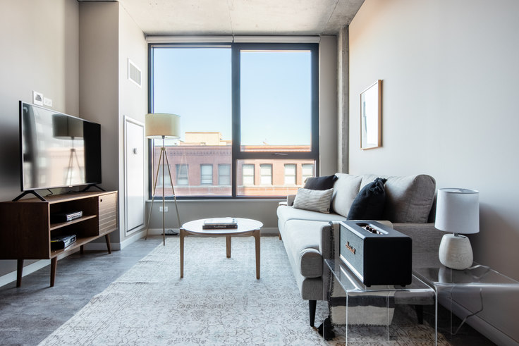 1 bedroom furnished apartment in Union West Apartments, 939 W Washington Blvd 290, West Loop, Chicago, photo 1