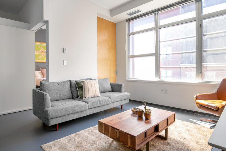2 bedroom furnished apartment in 160 E Berkeley St 276, South End, Boston, photo 1