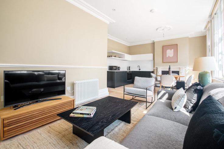 1 bedroom furnished apartment in St John Street 20, Clerkenwell, London, photo 1