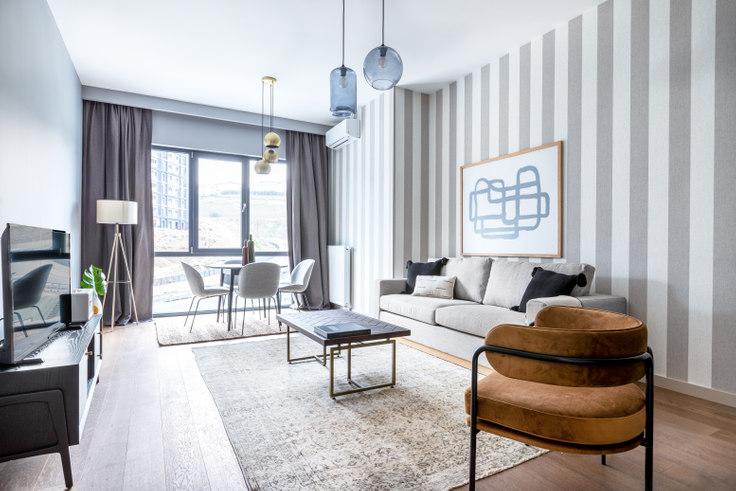 2 bedroom furnished apartment in Portavadi - 526 526, Ayazağa, Istanbul, photo 1