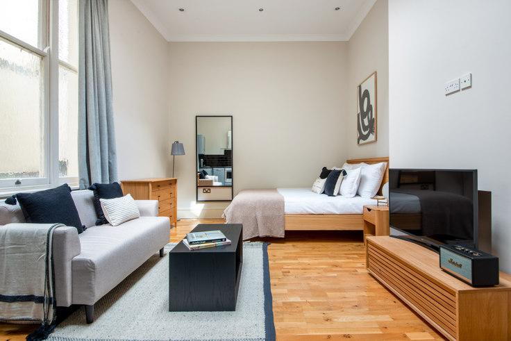 Studio furnished apartment in Lancaster Gate 21, Bayswater, London, photo 1