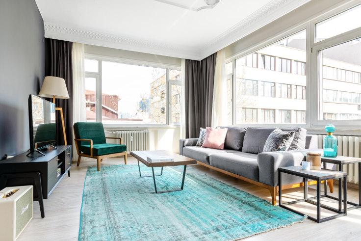3 bedroom furnished apartment in Seren - 528 528, Nişantaşı, Istanbul, photo 1