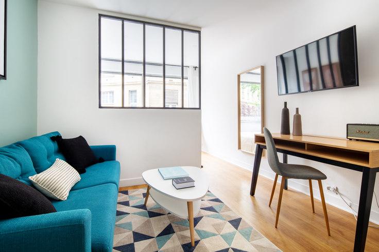 Studio furnished apartment in Rue d'Assas 18, Saint-Germain-des-Prés, Paris, photo 1