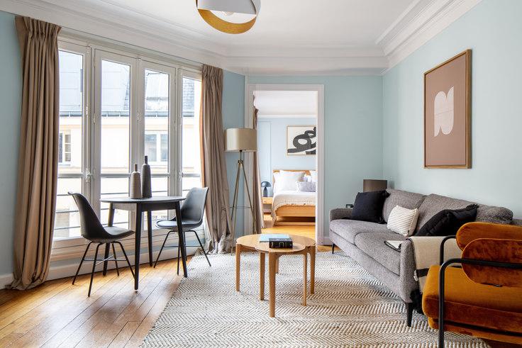 1 bedroom furnished apartment in Rue du Louvre 19, Louvre, Paris, photo 1