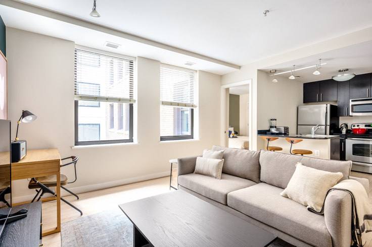 1 bedroom furnished apartment in The Woodward, 733 15th St NW 213, Downtown, Washington D.C., photo 1