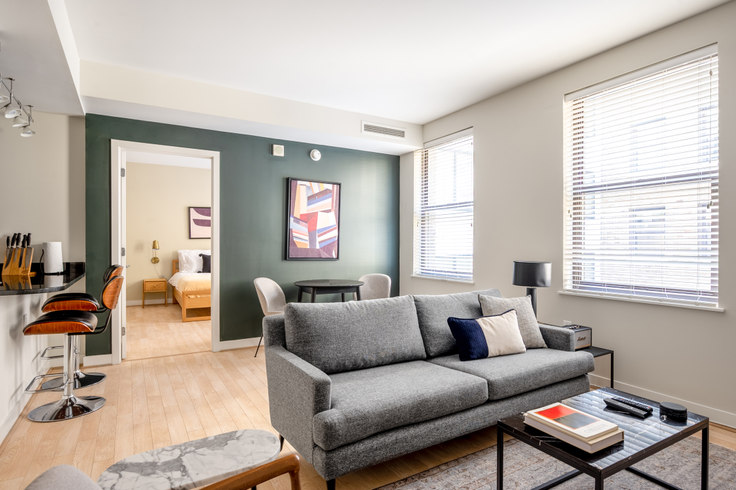 1 bedroom furnished apartment in The Woodward, 733 15th St NW 214, Downtown, Washington D.C., photo 1