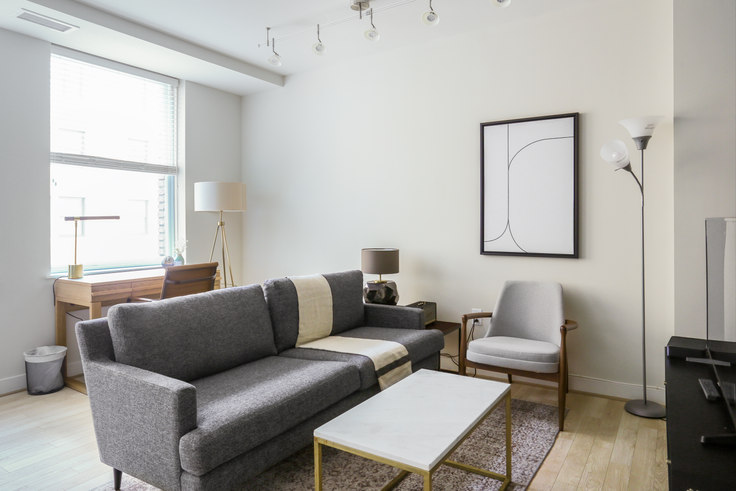 1 bedroom furnished apartment in The Woodward, 733 15th St NW 216, Downtown, Washington D.C., photo 1