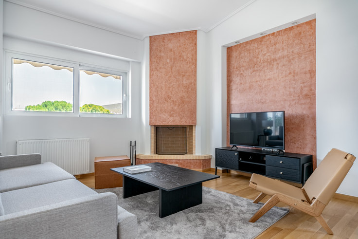 2 bedroom furnished apartment in Parou II 885, Kifisia, Athens, photo 1