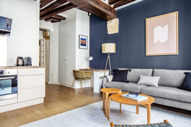 1 bedroom furnished apartment in Rue du Petit Pont 26, Quartier Latin, Paris, photo 1